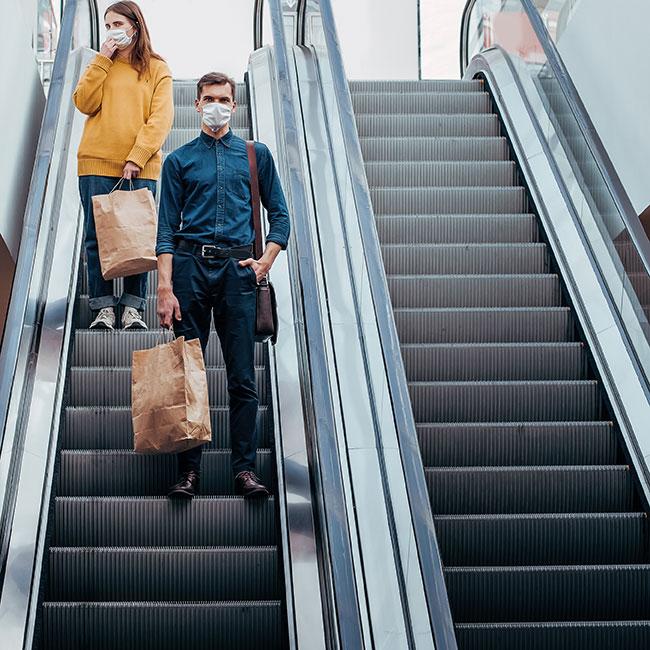 Jak prezentuje się odwiedzalność centrów handlowych